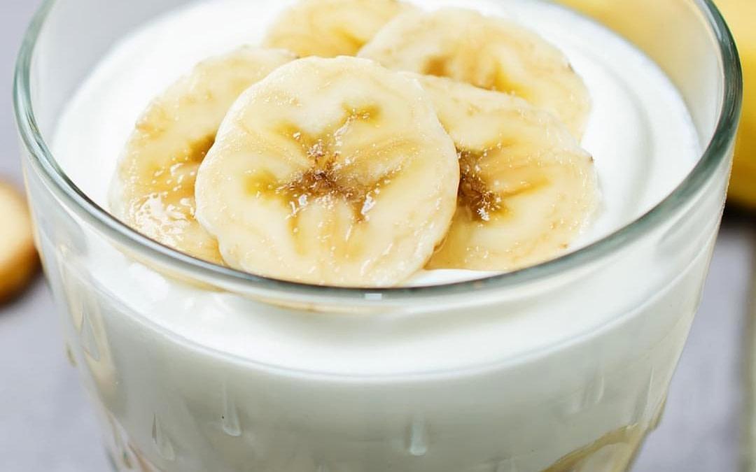 healthy recipe banana yogurt