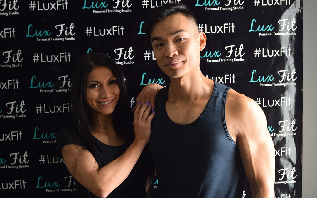 Claudia and Andy personal trainers at Lux Fit Studio