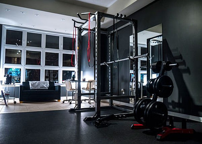 Squat rack at lux fit personal training studio in markham